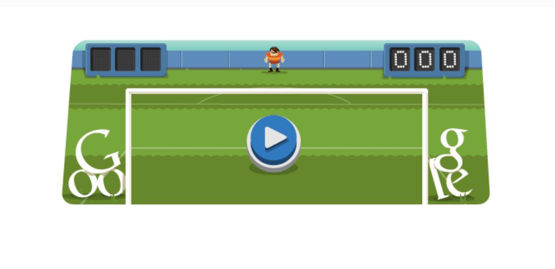 Futebol no Google Doodle - Jogos conhecidos do Google Doodle