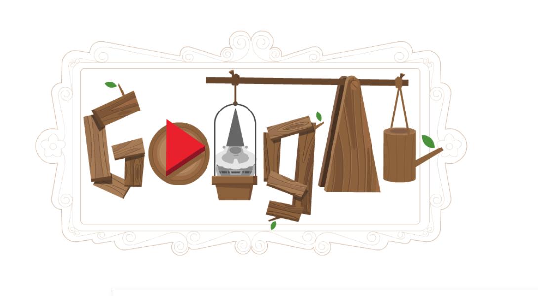 Gnomos de jardim felizes - Jogos conhecidos do Google Doodle